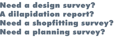Dilapidation surveys